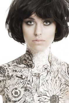 I am seriously contemplating cutting my hair off so I can have this hair! <3 <3 <3!