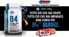 ► SUPER OFFERTA! B4 by BPI Sports - Il bruciagrassi con l'aggiunta di ingredienti per la concentrazione, l'energia e la resistenza, tutto in un unico prodotto ad un prezzo incredibile! Info Prodotto ->http://goo.gl/1KAy6v