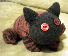Heatable sock cat (with tute and lots of pics) -This is so cute I am so giving these as gifts