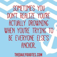 Everyone Else's Anchor