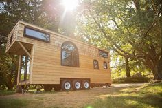 The Old World Vermont, a 300 sq ft tiny house built by Perch and Nest.