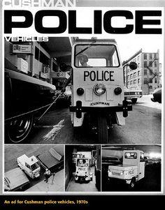Cushman Police vehicles