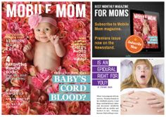 The premiere edition of Mobile Mom Digital Magazine just hit the newsstand! Download your copy today!