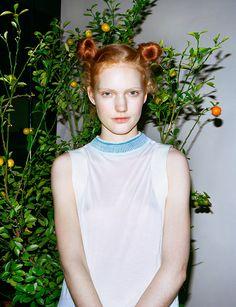 houseofbourbon:  Anniek Kortleve photographed by Sam Nixon for U+Mag (#105).