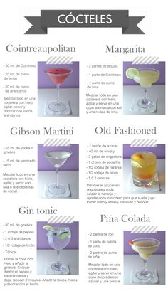 Noche de cócteles (o cómo preparar un bar en casa)