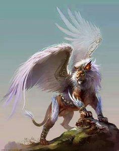 Lion angel