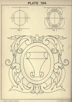 (plate 134) Cusack's freehand ornament