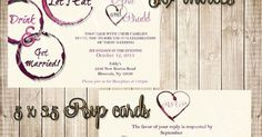 Wine, Wine stains and Invitations on Pinterest