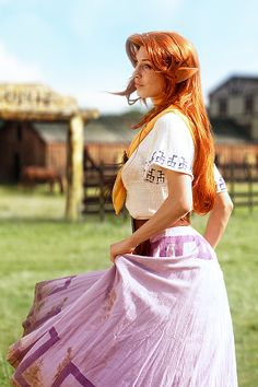 The Zelda Project-Legend of Zelda - Malon. This is something that would be pretty easy to do.