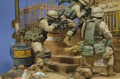 """""""Kock and Talk"""" 120mm scale (1/16 scale). By Steven Zuleski. US 10th Mtn Div"""
