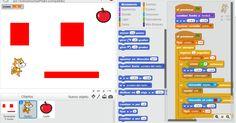Hacer videojuegos en Scratch es fácil y divertido. Os dejo un enlace con los bloques para hacer videojuegos básicos de persecuciones, laberi...