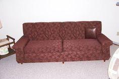 1950'S Sectional Sofa   1950's Sofa