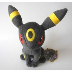 Pokemon 2012 Umbreon Takara Tomy Plush Toy