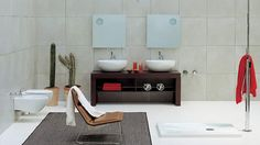 Looking for some bathroom decor inspiration? Here are some beautiful bathrooms to get your decoration gears going. Maybe you'll glean . Best Bathroom Designs, Contemporary Bathroom Designs, Modern Bathroom Accessories, Bathroom Photos, Bathroom Ideas, Closet Designs, Bathroom Colors, Beautiful Bathrooms, Design Ideas