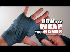 Handwraps: How to Wrap Your Hands for Boxing, Kickboxing, and Muay Thai: http://www.youtube.com/watch?v=zLMnE9SUVNg