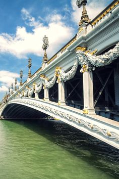 Pont Alexandre III, Paris -- Curated by: Ecora Engineering & Resource Group | 579 Lawrence Avenue Kelowna BC v1y 6l8 | 250-469-9757