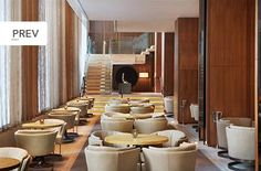 Dining Room at the Four Seasons Hotel -  Toronto - Canada