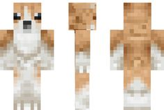 Welsh Corgi Minecraft Skin