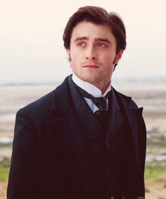 """Hey, Harry Potter looks hot. Daniel Radcliffe in """"The Woman in Black"""" (as Marius) Harry Potter Puns, Harry Potter Actors, Leiden, Adele, Daniel Radcliffe Harry Potter, The Woman In Black, Face Men, Movie Costumes, Horror Films"""