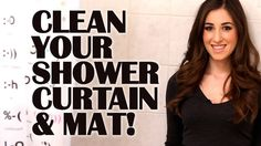 How to Clean Your Shower Curtain & Mat: Easy Bathroom Cleaning Ideas That Save Time (Clean My Space) Pratical Life Diy Bathroom, Bathroom Cleaning Hacks, Simple Bathroom, Diy Cleaning Products, Cleaning Solutions, Cleaning Tips, Cleaning Challenge, Cleaning Cloths, Laundry Hacks