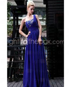 Sweetheart Floor-length Chiffon Formal Evening Dresses With Criss-Cross