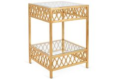 Felix Side Table, Gold on OneKingsLane.com