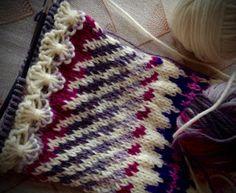 Ankortit Crochet Socks, Knitting Socks, Knit Crochet, Knitting Ideas, Drawn Thread, Fair Isle Knitting, Color Patterns, Something To Do, Blanket