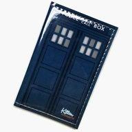 TARDIS Vinyl Passport Cover.. PERFECT for travel :)