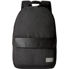 HEX Echo Backpack (Charcoal Canvas) Backpack Bags ( 80) ❤ liked on Polyvore  featuring bags c953e7d945640