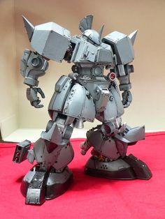 "Custom Build: MG 1/100 Gelgoog ""Detailed"" - Gundam Kits Collection News and Reviews"