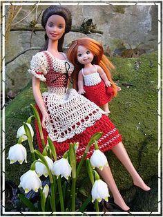 #Barbie #crochet #outfits Hanneton ../..46.37 qw