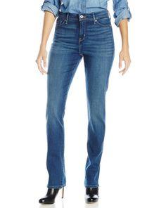 1. Levi's Women's 512 Straight Leg Jean