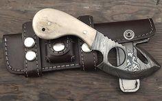 Handmade Gut Hook Skinner Knife