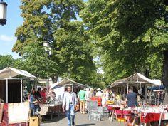 Berlin has many markets, this is the largest.  Berlin Market near Tiergarten Park every Sat & Sunday.