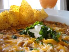 """White Chicken Chili - a new must have for my fall/winter """"easy but delish"""" standby make ahead dinner!"""