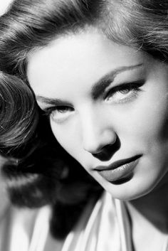 El post de los actores y actrices de cine clásico Lauren Bacall
