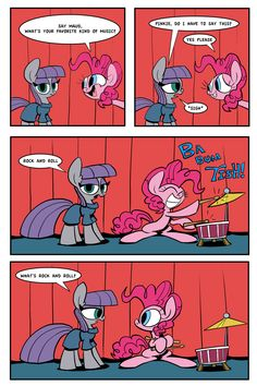 Joke Time with Maud and Pinkie Pie by JoeyWaggoner.deviantart.com on @deviantART