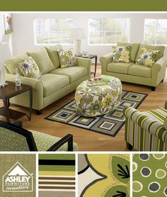 Nolana Citron Sofa, Loveseat U0026 Accent Chairs   Ashley Furniture HomeStore