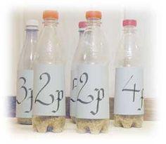 Skapligt Enkelt matematiskt: Petflaskebowling