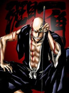 BLEACH, Ikkaku Madarame Pictures...cracks me up whenever he is on the screen