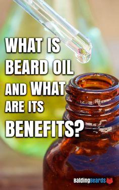 https://www.baldingbeards.com/what-is-beard-oil-and-its-benefits/ #beard #oil #benefits