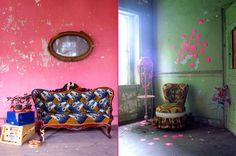 Huisraad en meer....: fluor in interieur...