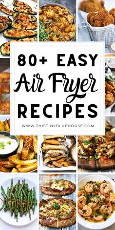 Best Air Fryer Recipes Your Family Will Love - This Tiny Blue House- Here are BEST delicious and healthy air fryer recipes that your family will just love. These easy best air fryer recipes are a guaranteed hit! Air Fryer Recipes Wings, Air Fryer Recipes Appetizers, Air Fryer Recipes Vegetarian, Air Fryer Recipes Vegetables, Air Fryer Recipes Snacks, Air Fryer Recipes Low Carb, Air Frier Recipes, Air Fryer Recipes Breakfast, Air Fryer Dinner Recipes