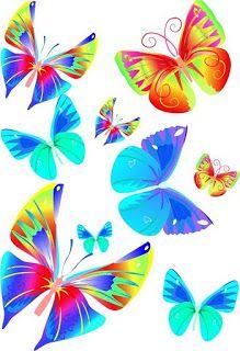 Imprimir imagenes de mariposas:Imagenes y dibujos para imprimir