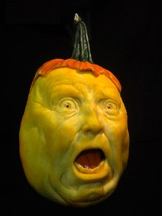 This Guy Makes The Scariest Pumpkin Carvings Ever (Jon Neill)