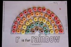 Rainbow craft-Noah