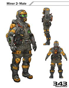 Security Armor redesign for Halo 5 Halo 5, Halo Game, Character Concept, Character Art, Character Design, Character Ideas, Armor Concept, Concept Art, Futuristic Armour