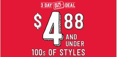 Two Mom Deals: $4.88 sale at Crazy 8