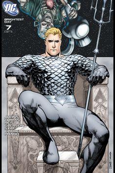 Brightest Day DC Comics Book cover art super heroes villians New 52 Aquaman Aquaman, White Lantern Corps, White Lanterns, Dc Comics, Comic Book Covers, Comic Books Art, Dr Fate, Superman, Batman