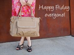 Boowiggie Lily leather baby bag. #Friday #weekend #leatherbags #nappybags #diaperbags